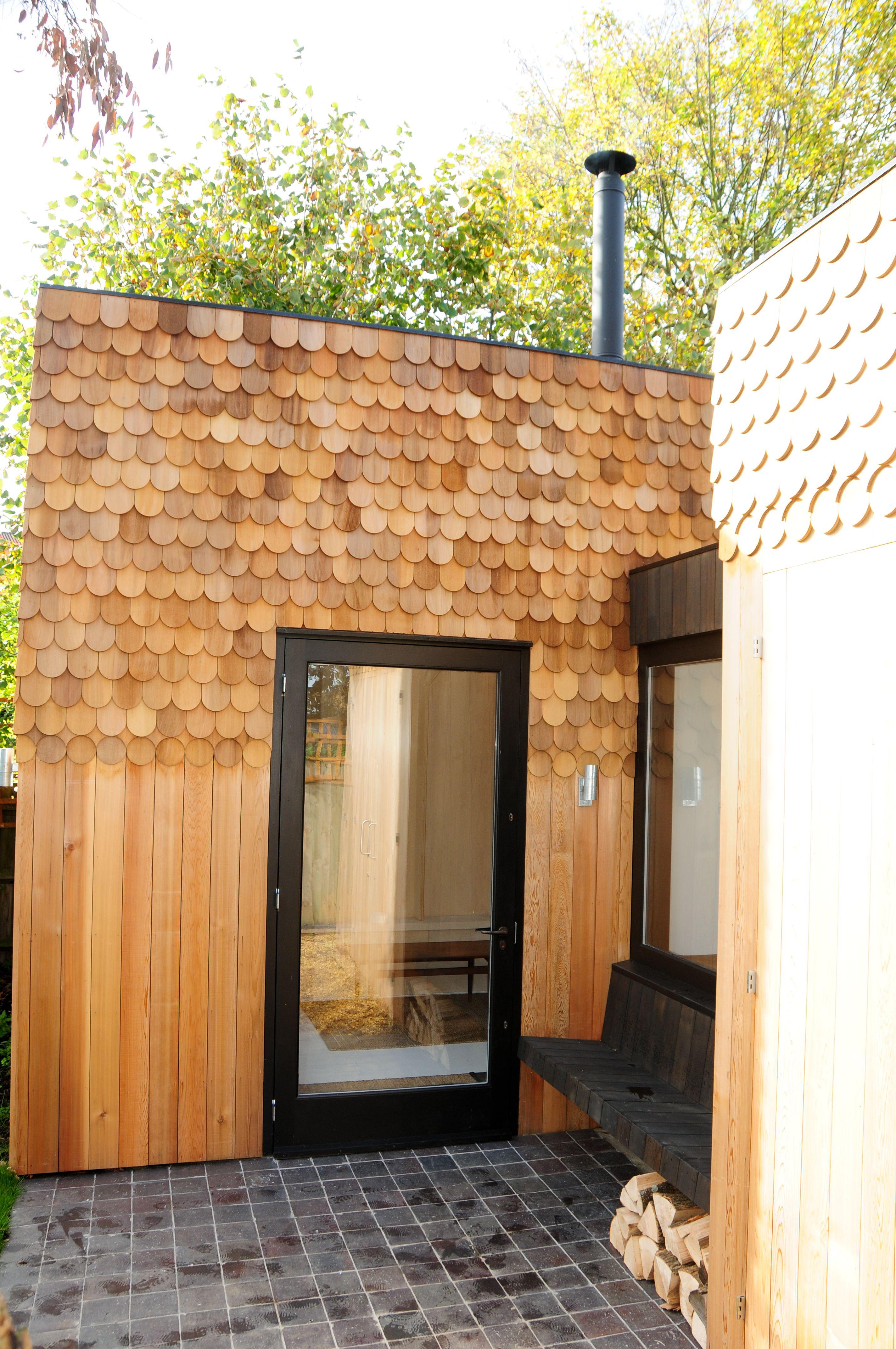 Best Red Cedar Shingle Doll House 400 x 300