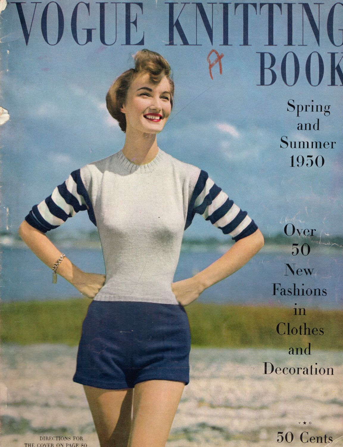 Vogue knitting book spring and summer 1950 gorgeous vintage vogue knitting book spring and summer 1950 gorgeous vintage knitting patterns childrens knits bankloansurffo Choice Image
