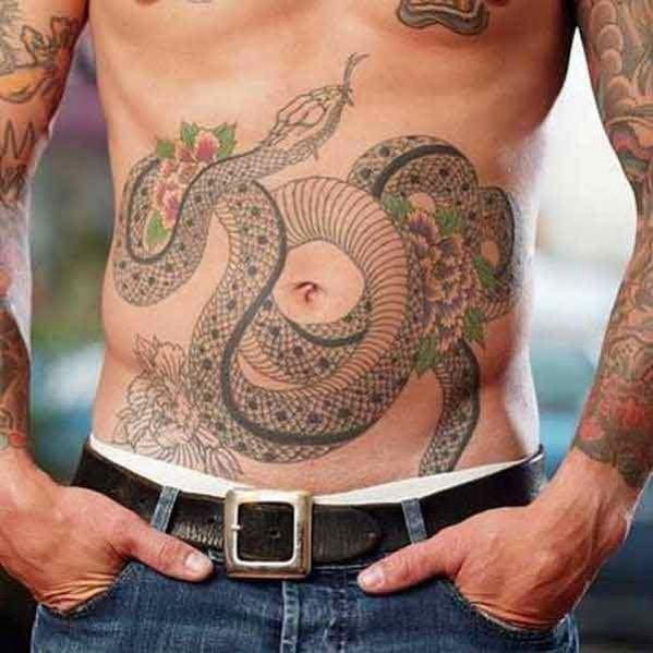 modèle tatouage homme serpent | tatouage animaux | pinterest