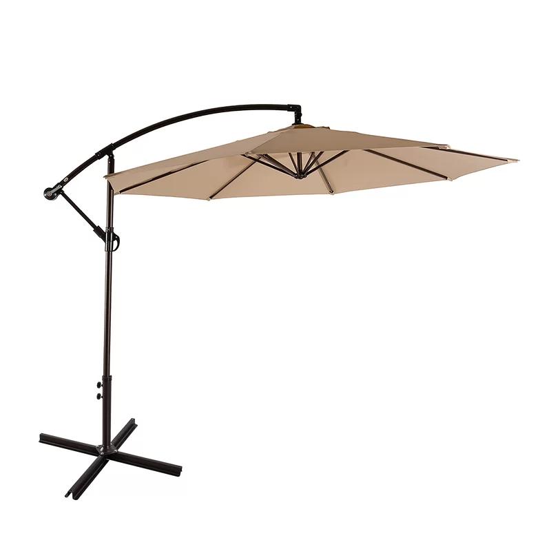 Alcott Hill Karr 10 Cantilever Umbrella Reviews Wayfair