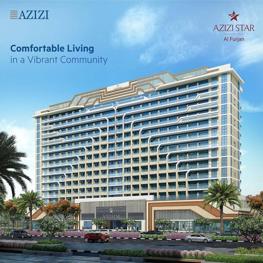 Discover Azizi Star Located In Al Furjan A Prospering