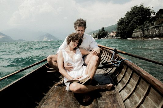 FESTIVAL BRIDES   A Intimate Elopement on a lake in Italy….