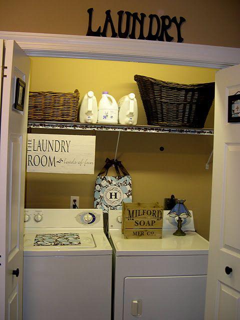 Laundry Room Closet More