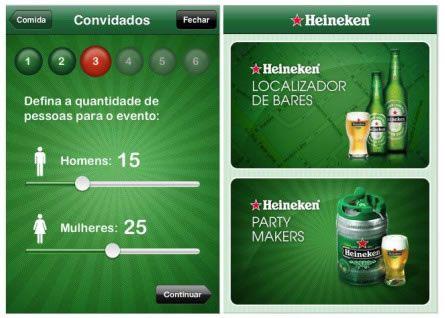 AHeineken lançou essa semana um aplicativo para iPhone que promete ajudar os amantes da cerveja. Apesar da idéia ser antiga - já apareceu na