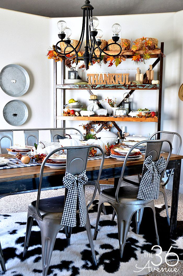 Fall Decor - Dining Room Fall decor, Room and Decorating - halloween fall decorating ideas