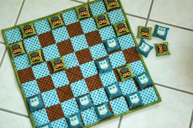 Bean Bag Checkers..Gifties?