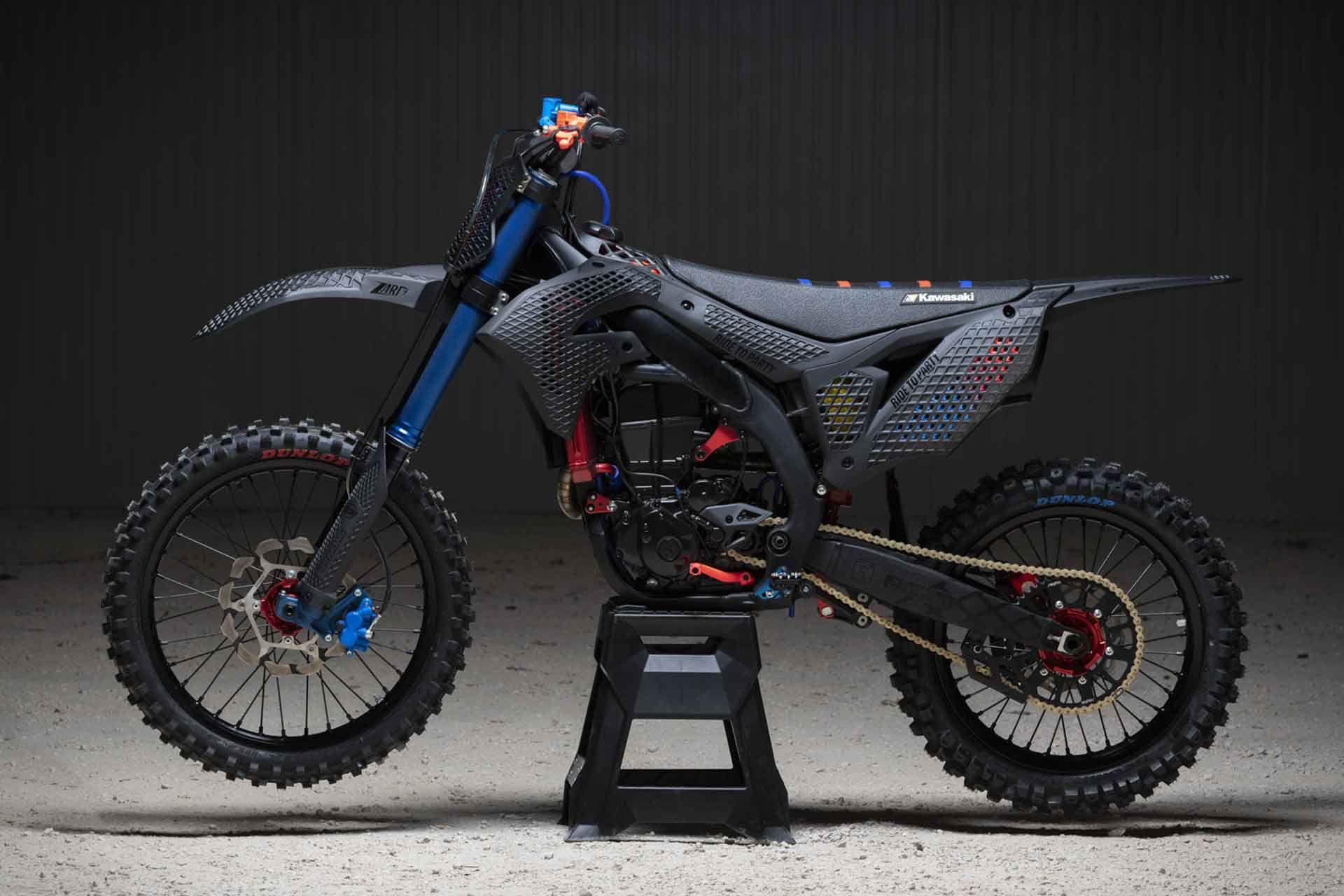 2019 Kawasaki Kx 450 3d Core Dirt Bike Motorcross Bike