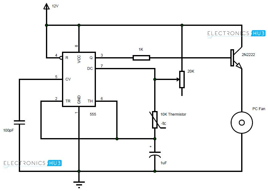 Pwm Cooling Fan Wiring Diagram - Wiring Diagram & Cable ... on