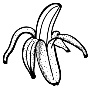 Banana Black And White Free Download Best Banana Black And White Black And White Cartoon Clipart Black And White Black And White Illustration