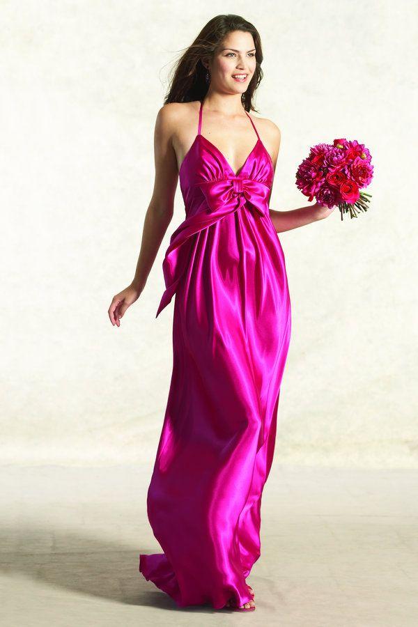 Lujoso Vestido De La Dama De Honor Jessica Mcclintock Adorno - Ideas ...