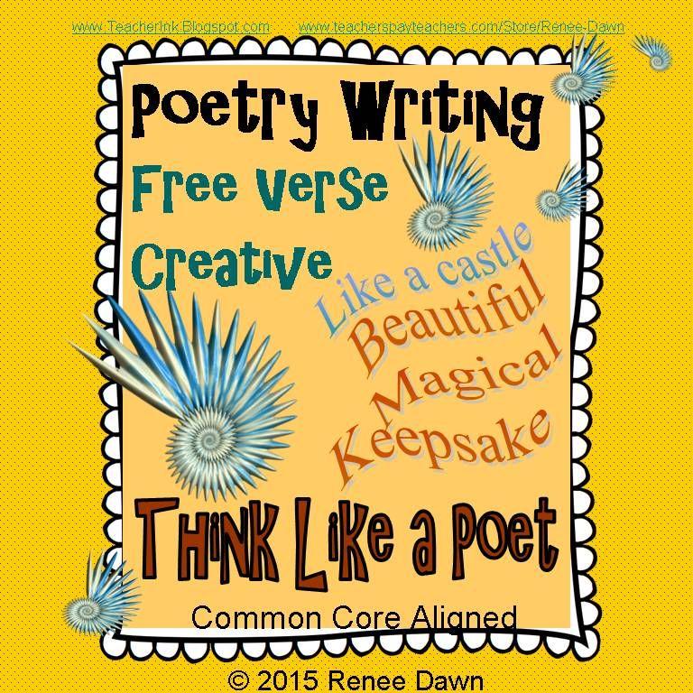 Poet Author Creative: Poetry Writing - Free Verse Creative