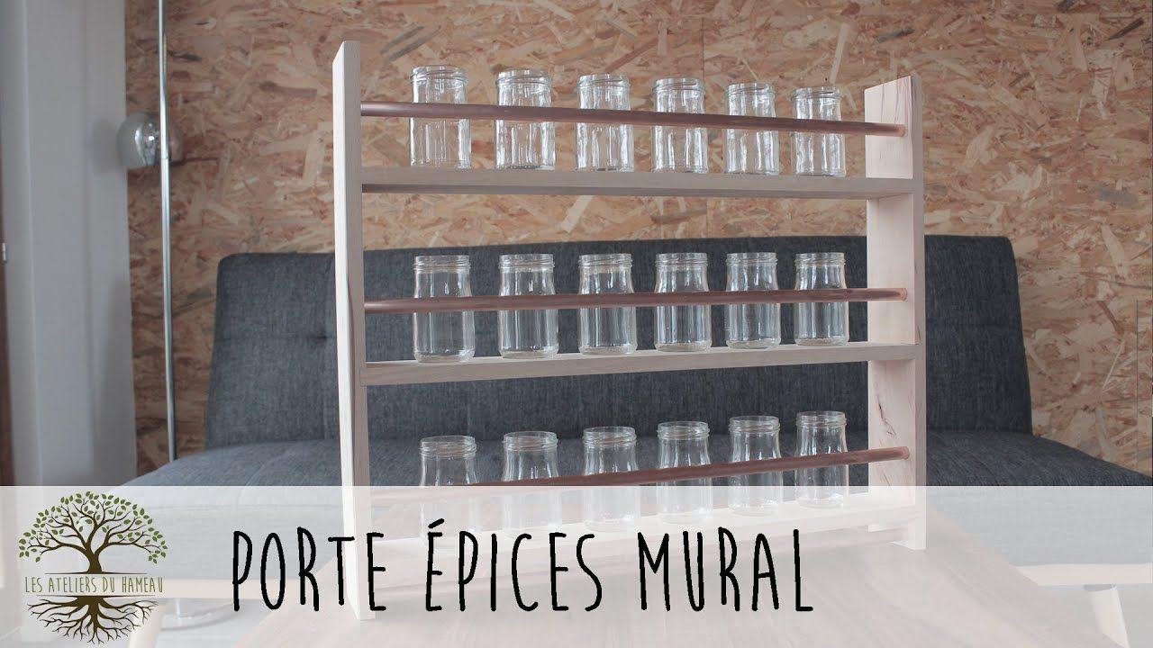 porte epices mural