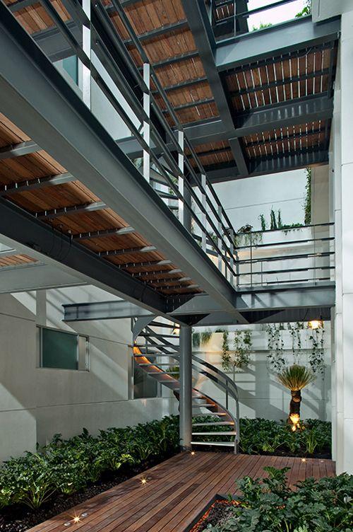 Ampliar Casas De Estructura Metalica Arquitectura En Acero