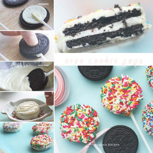 3 Ingredient Party Ideas Recipe Oreo Cake Pops Oreo Cookie