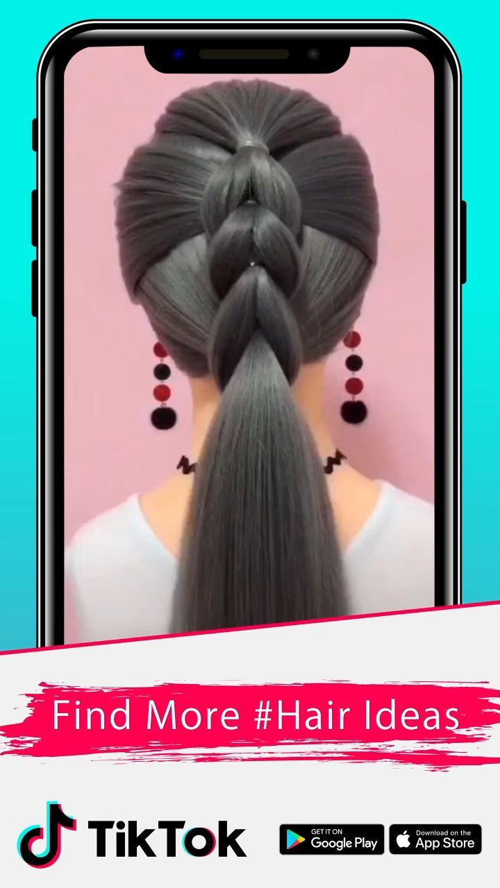 Download Tiktok For More Cool Videos Download Tiktok Videos Hairstylecool Hair Styles Hair Videos Long Hair Styles