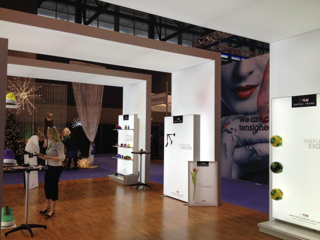 Step into Matrix Frames\' booth!!   Trade Shows and Exhibits with ...