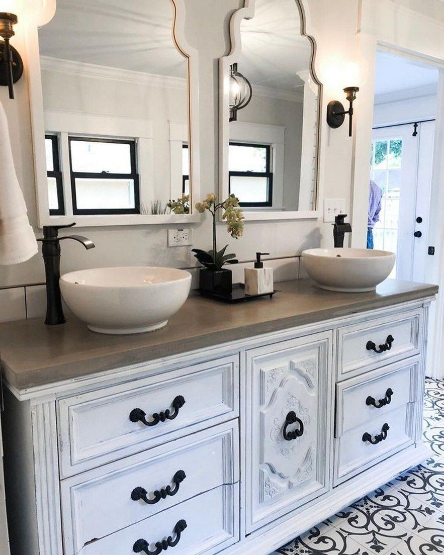 ⭐️61 Ideas For Bathroom Remodel Double Sink Style ...