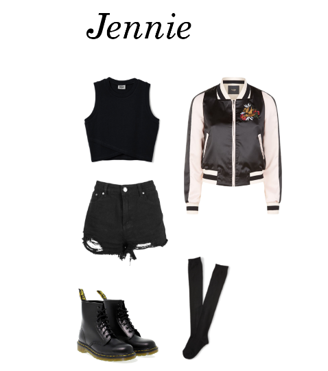 Blackpink Outfit Ideas: Outfit Inspired By: BLΛƆKPIИK Jennie 'Whisle'
