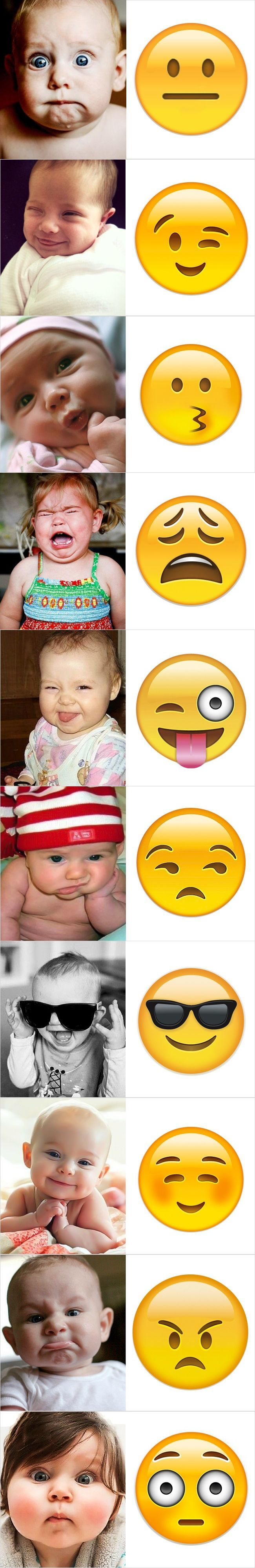 These 10 Babies Will Show You The Correct Expression Of