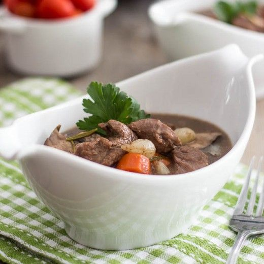 Slow Cooker Boeuf Bourguignon Recipe