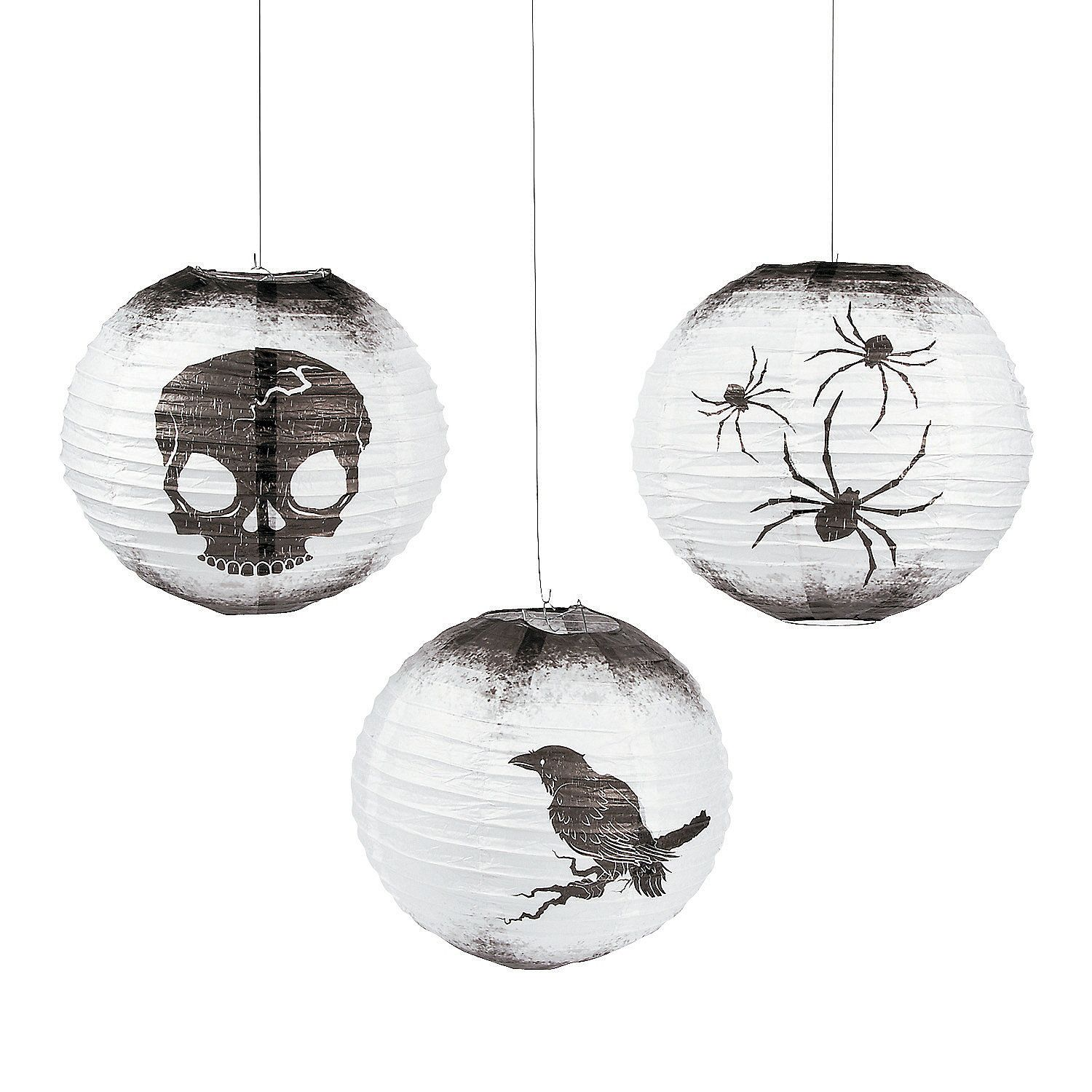 Add a touch of gothic glam to your soiree with ravens, skulls and ...