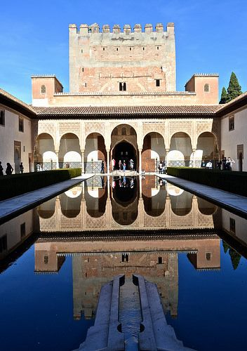 Granada Alhambra Palace, Granada Spain I went here my first time in Spain. Beautiful!