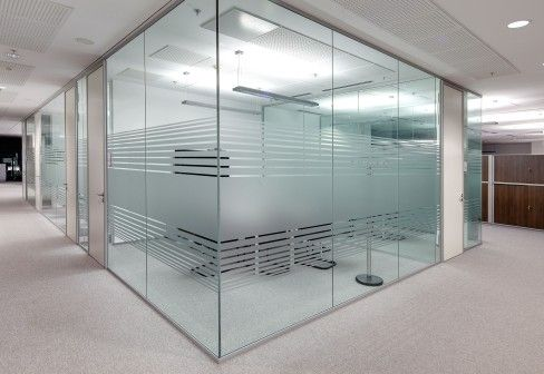 Lindner Group Lindner Life glass partitions Inspiration B - design aus glas rezeption bilder