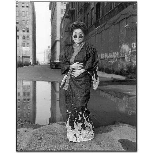 Yoko Ono, 1997 by Mary Ellen Mark Brooklyn, New York