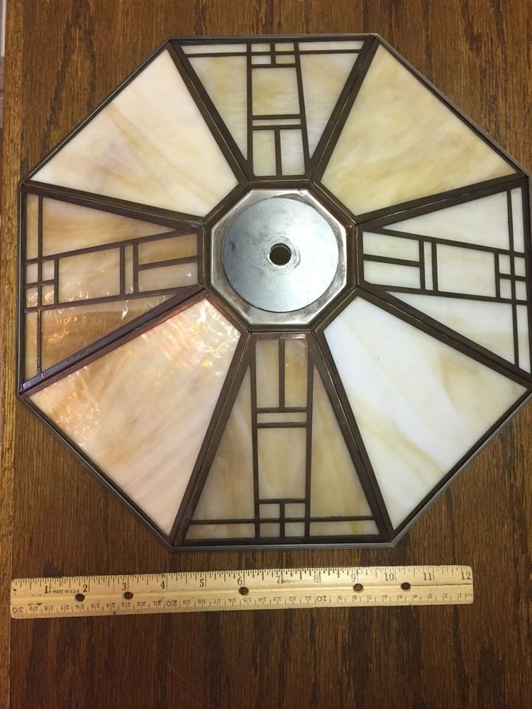 Casablanca fan repl glass for mission amber glass with bronze ceiling casablanca fan repl glass for mission aloadofball Image collections