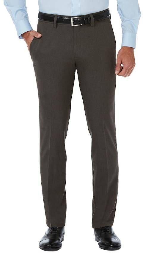 f1018bb305e Haggar Big   Tall Cool 18® PRO Slim-Fit Wrinkle-Free Flat-Front Super Flex  Waist Pants
