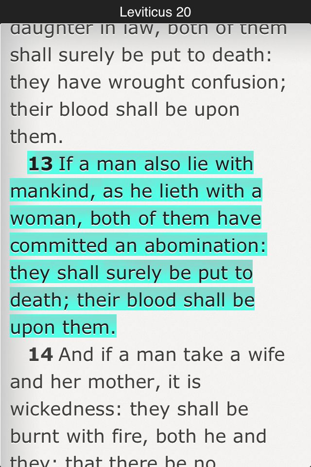 Kjv new testament on homosexuality