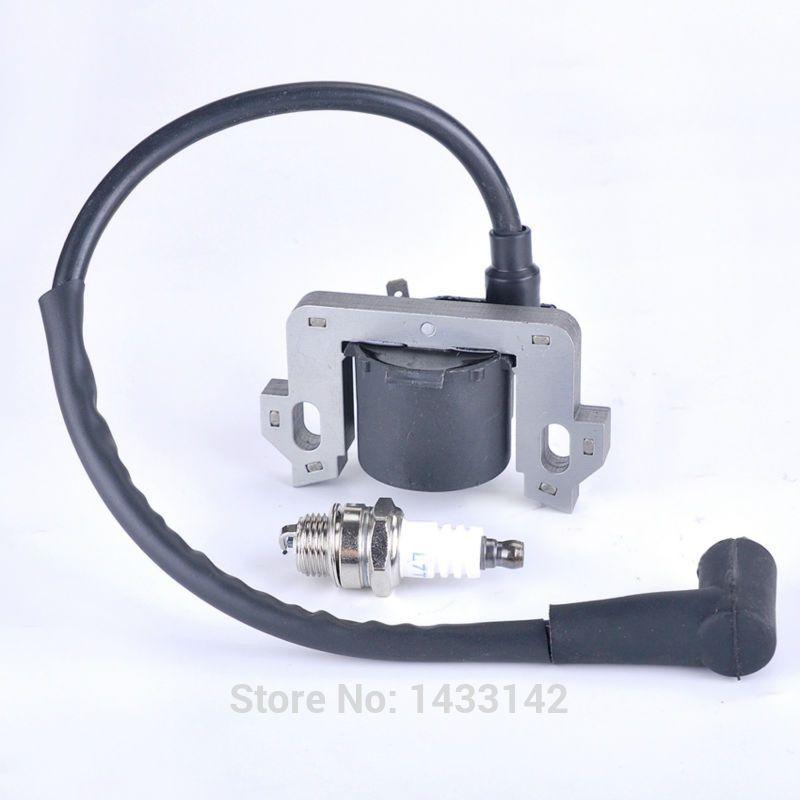 Ignition Coil Spark Plug For Honda Gcv135 Gcv160 Hrr216 Hs520 Generator En2500 Bobine Snowblower Lawn Mowers 30500 Zl Garden Supplies Garden Tools Lawn Mowers