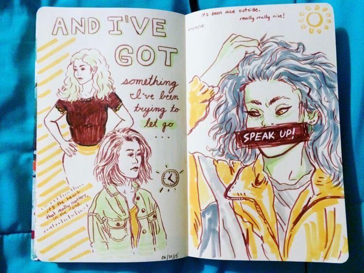 Libretas De Dibujo De Un Artista Freelance: Image Result For Sketchbook Inspo