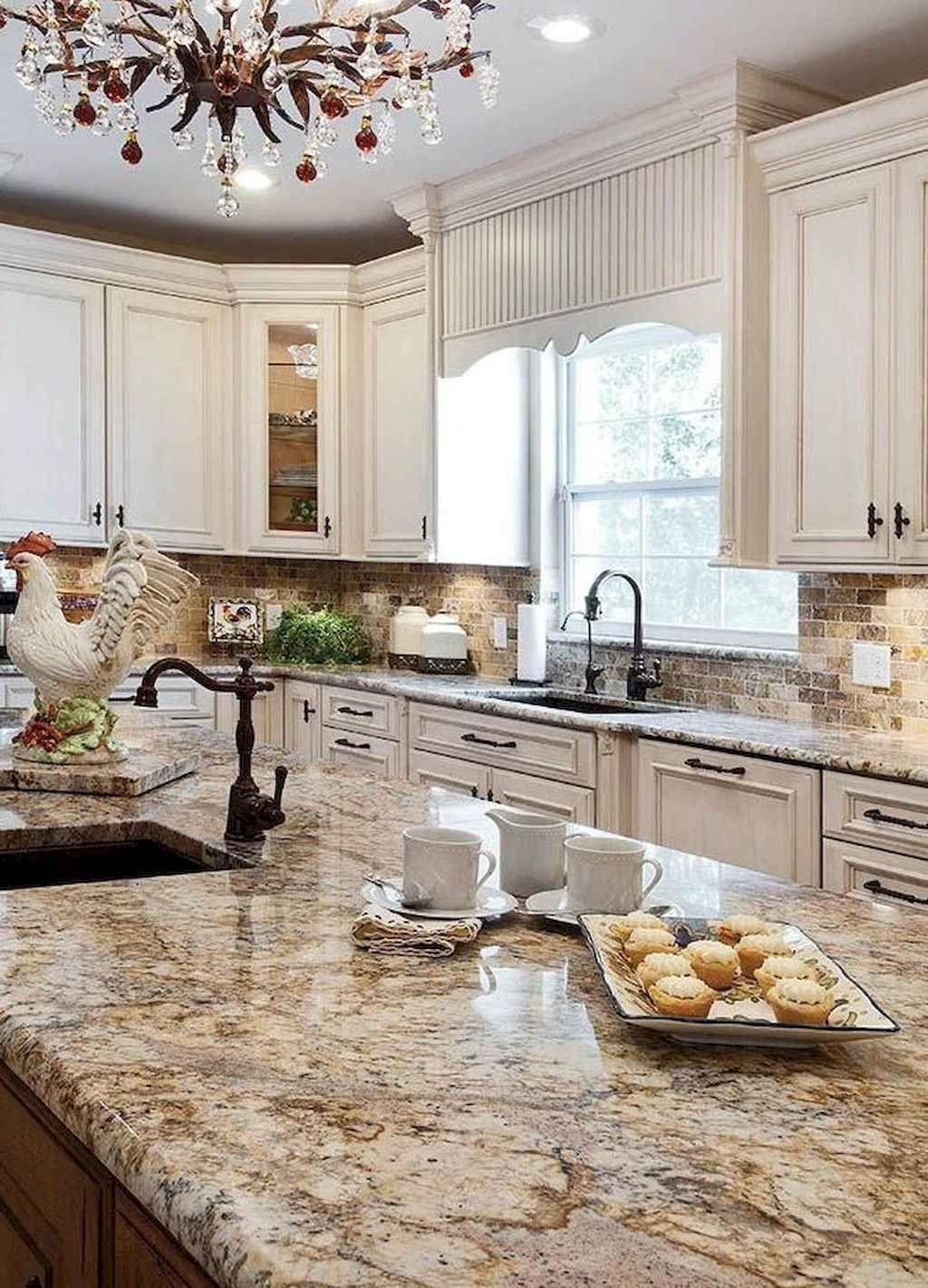 Best 100 White Kitchen Cabinets Decor Ideas For Farmhouse Style Design Page Cabinets Deco In 2020 Landkuchendesign Franzosische Landhauskuche Kuche Landhausstil