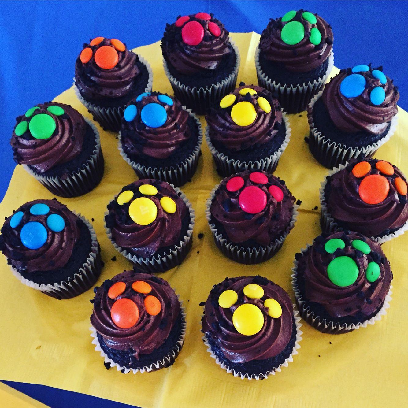 Easy paw patrol mini cupcakes Paw Patrol Toys Pinterest Paw