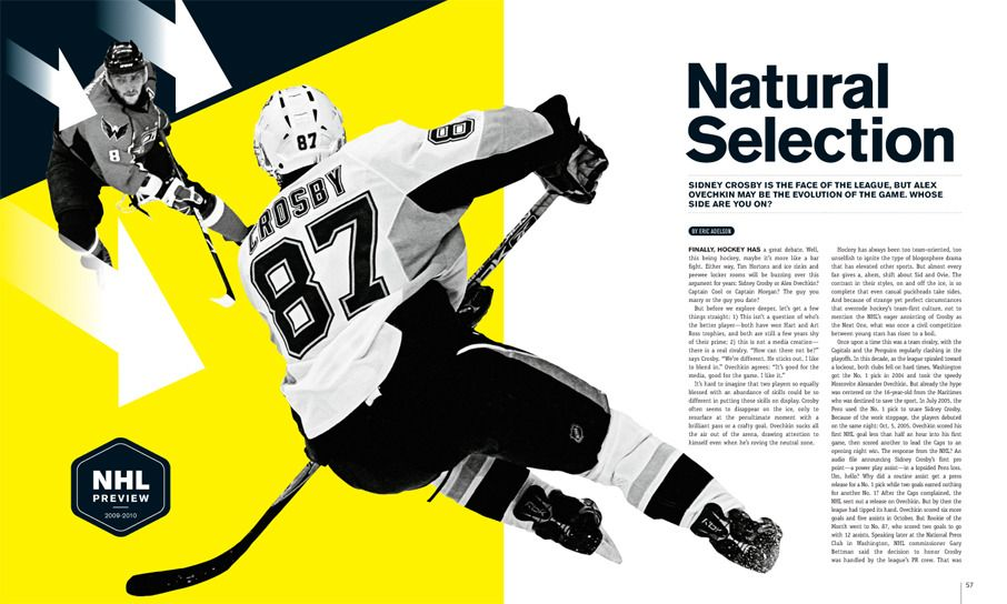 espn layout Magazine design, Magazine layout inspiration