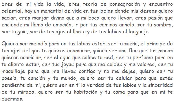 Resultado De Imagen Para Poemas De Amor Largos Para Mi