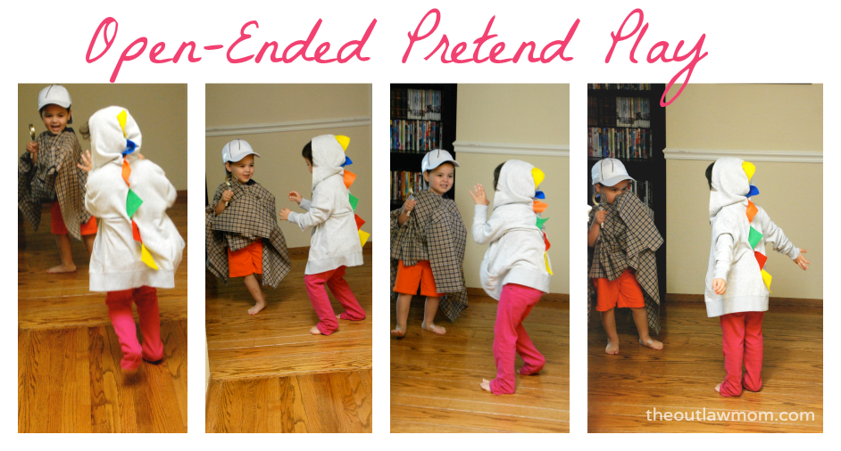 Outlaw Mom | Open Ended Pretend Play Ideas