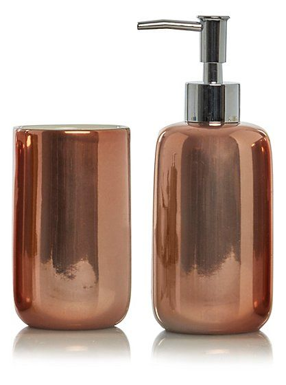 Soap Dispenser - Copper Bath accessories, Bathroom accessories and - asda halloween decorations