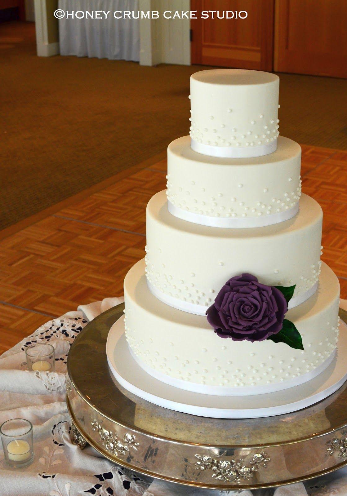 Simple wedding cake honey crumb cake studio cake wedding