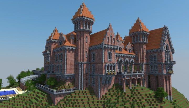Farm House And Red Barns  U2013 Minecraft Building Inc  2020