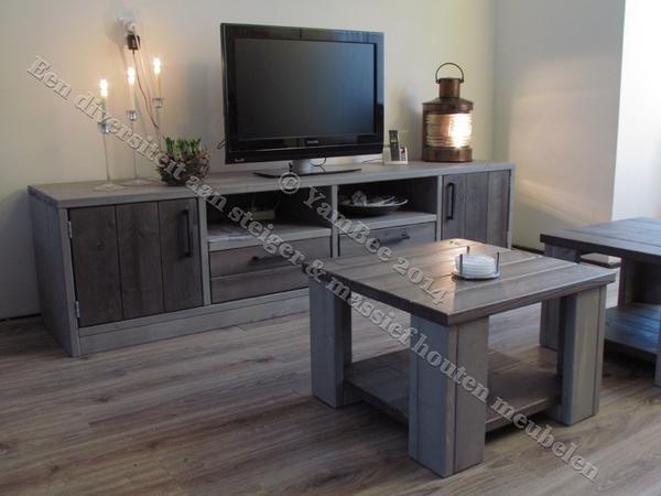 steigerhout meubels woonkamer - Google zoeken | Projects to Try ...