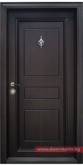 Blindirana Vhodna Vrata Kod T505 Cvyat Tmen Oreh Wood Doors Interior Main Door Design Room Door Design