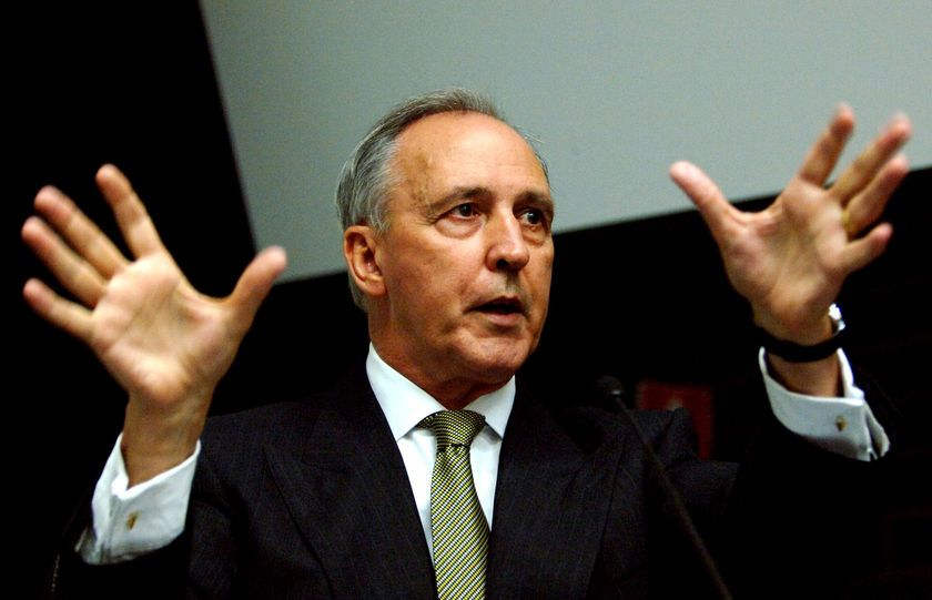 "Paul Keating - miss his witticisms.  Of John Howard:  ""he is a shiver looking for a spine to run up."""