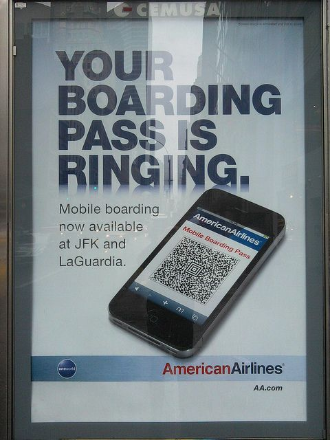 American Airlines Boarding Pass Qr Code Getting Techie