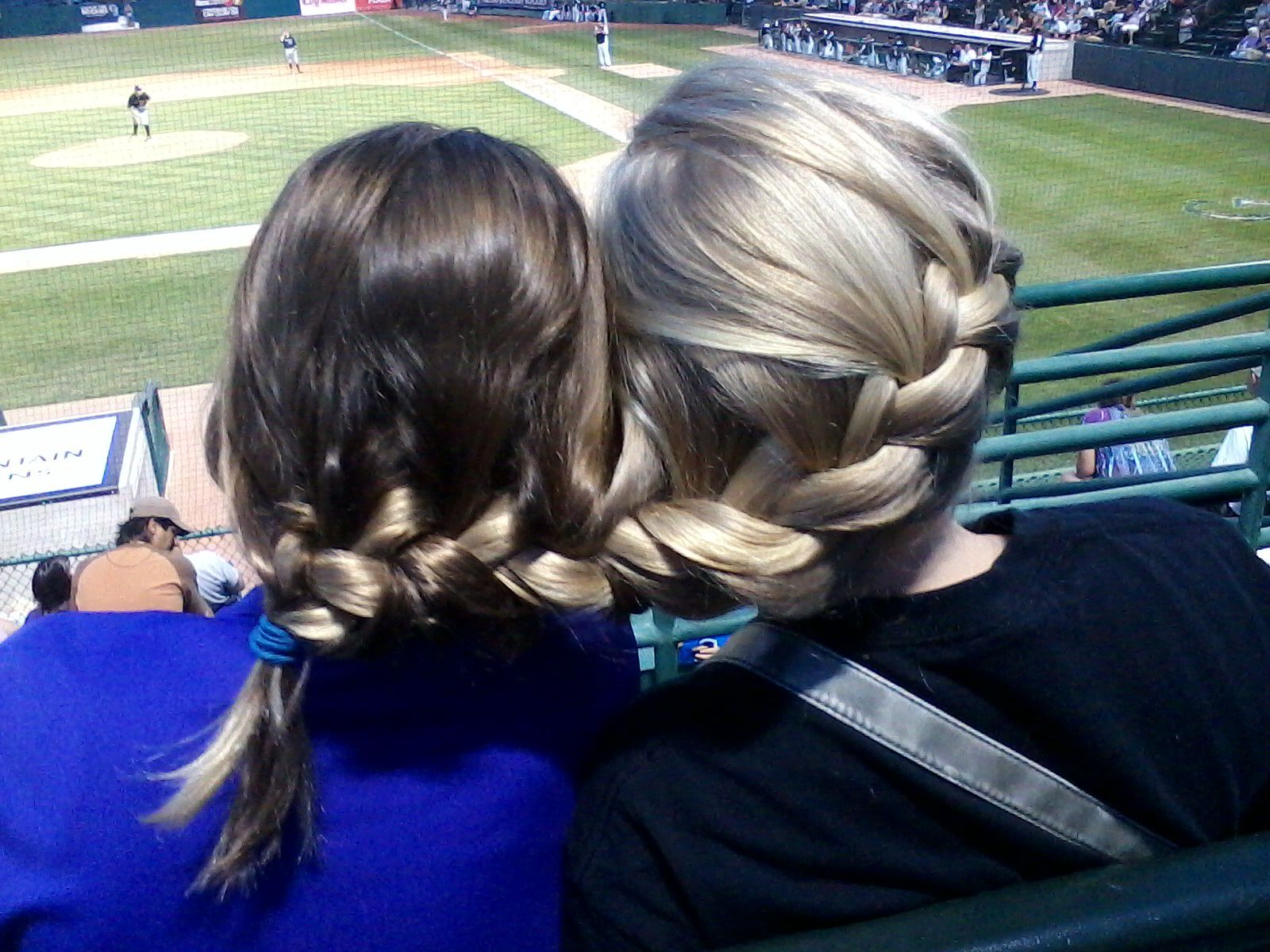 Braided my sister (@Elizabeth Kennedy) and my cousin (@AnnieC408) together :)