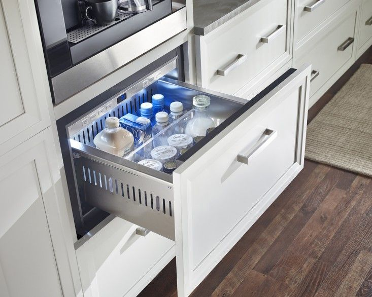 10 Easy Pieces The Best Under Counter Refrigerator Drawers Remodelista Undercounter Refrigerator Drawers Refrigerator Drawers Undercounter Refrigerator