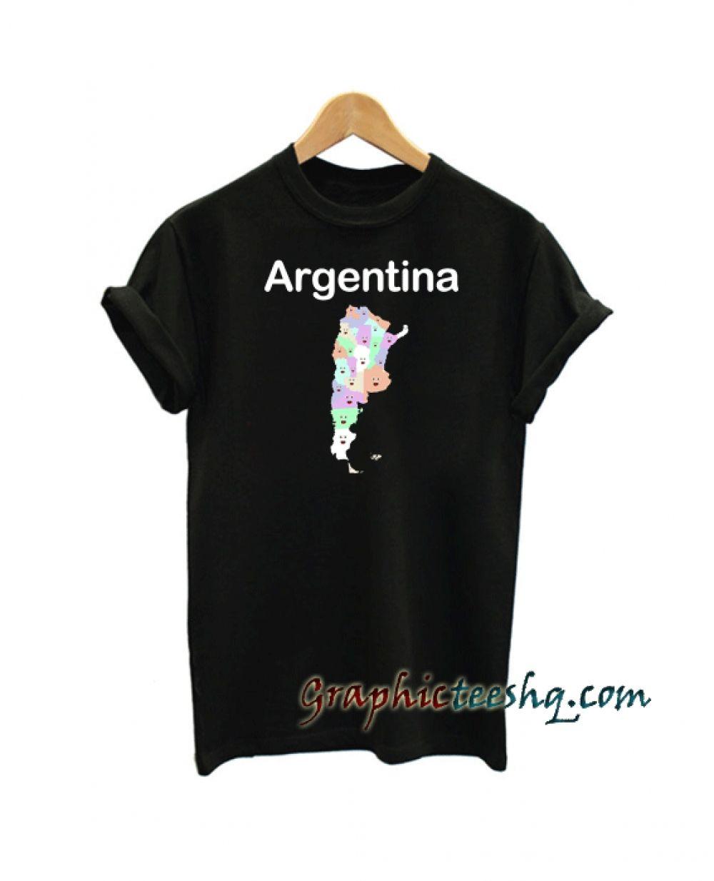 95a5d374 Argentina Geography Tee Shirt Price: 13.50 #style #fashion #tshirts #tee  #tshirtdesign#instafashion #black #cute #art #amazing#funny #webstagram  #lol #hot ...