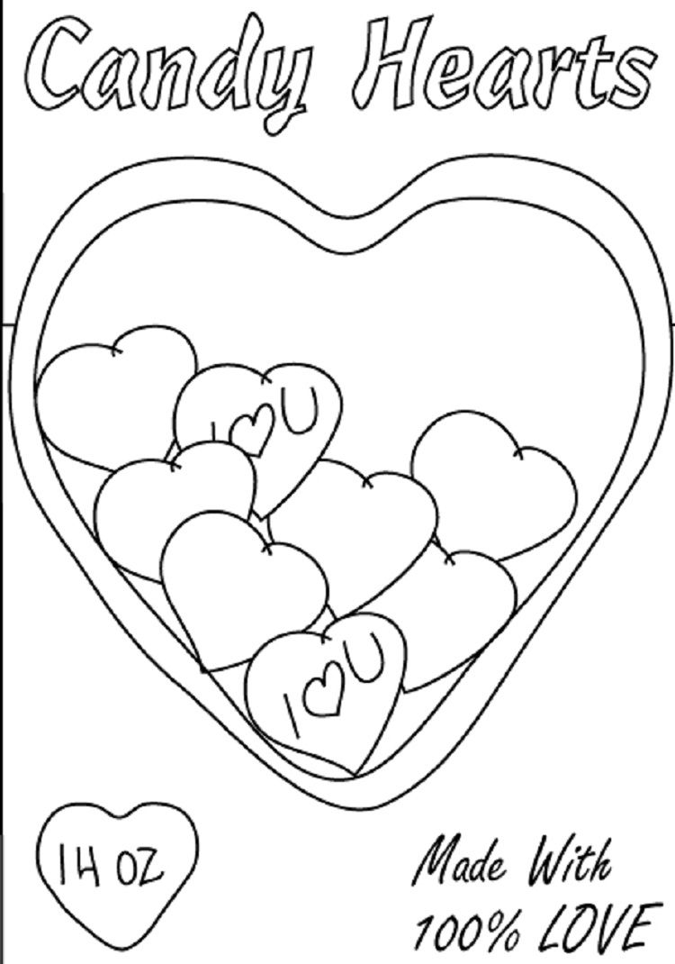 candy heart coloring pages check more at http coloringareas com