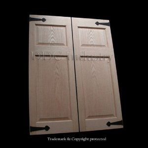 wrought iron hinges on cabinets